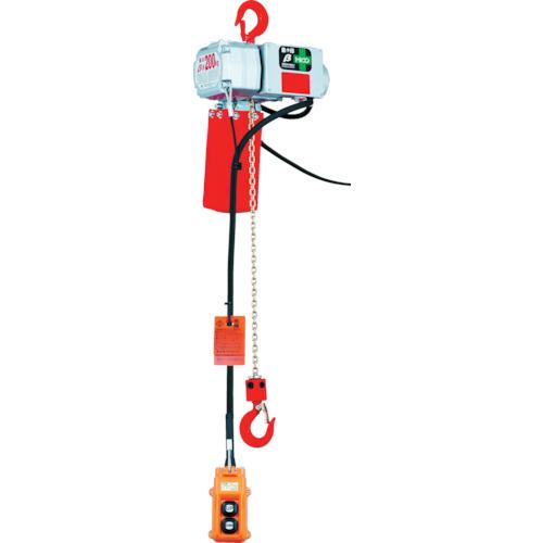 ■象印 ベータ型小型電気チェンブロック 定格荷重125KG 揚程6M〔品番:BS-K1260〕[TR-3419223]