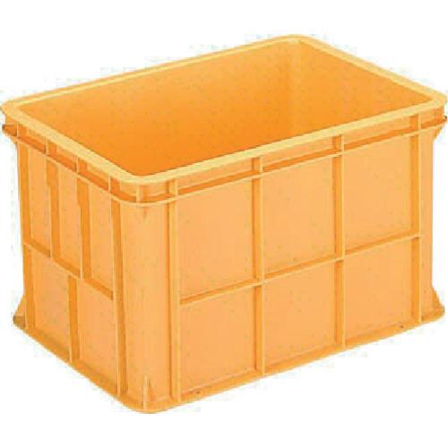 ■サンコー 超大型コンテナー ジャンボックス#100(本体) オレンジ  〔品番:SK-100-OR〕[TR-3423166]【大型・重量物・個人宅配送不可】