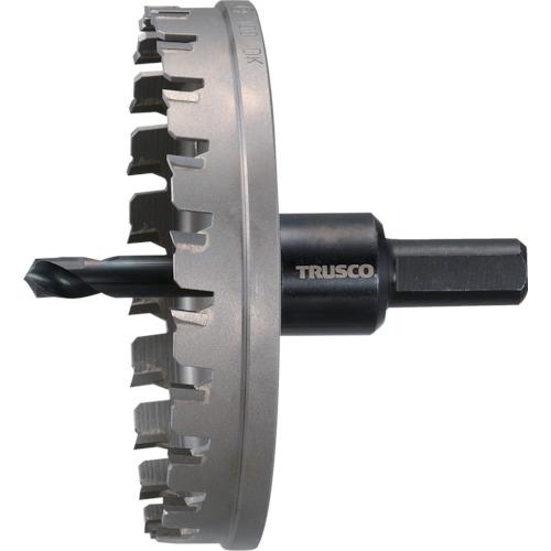 ■TRUSCO 超硬ステンレスホールカッター 100MM  〔品番:TTG100〕[TR-3522946]