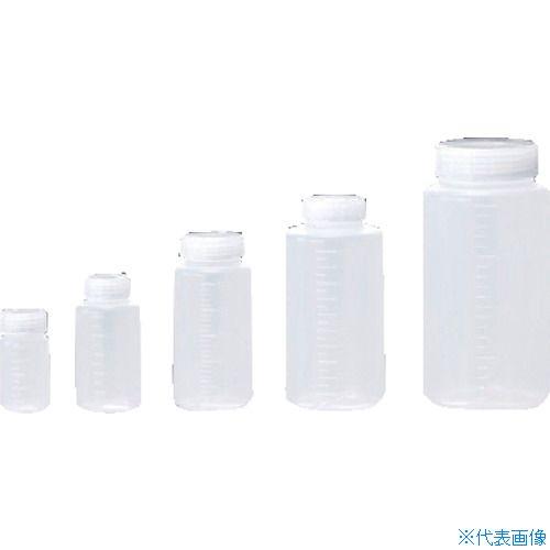 ■サンプラ クイックボトル 250ml広口 (100個入)〔品番:25011〕[TR-3540596]