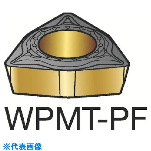 ■サンドビック コロターン111 旋削用ポジ・チップ 1515 1515 10個入 〔品番:WPMT〕[TR-3583261×10]