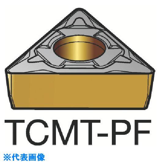 ■サンドビック コロターン107 旋削用ポジ・チップ 1515 1515 10個入 〔品番:TCMT〕[TR-3586286×10]