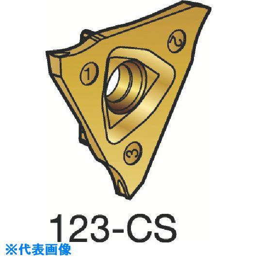 ■サンドビック コロカット3 突切り・溝入れチップ 1125 1125 10個入 〔品番:L123U3-0100-1000-CS〕[TR-3589285×10]