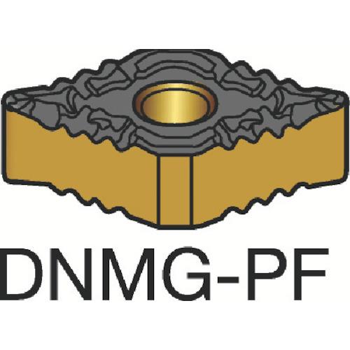 ■サンドビック T-MAX P 旋削用ネガ・チップ 1515 1515 10個入 〔品番:DNMG〕[TR-3590488×10]