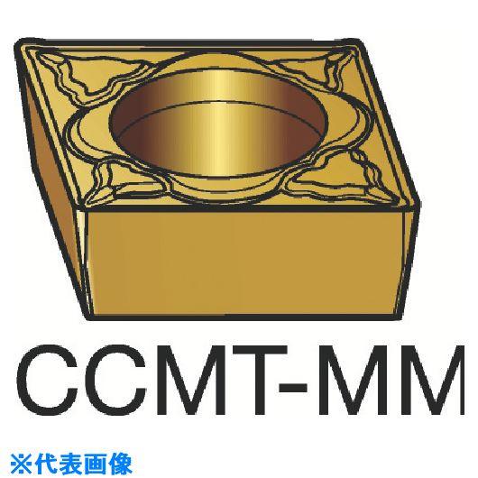 ■サンドビック コロターン107 旋削用ポジ・チップ 1115 1115 10個入 〔品番:CCMT〕[TR-3591999×10]