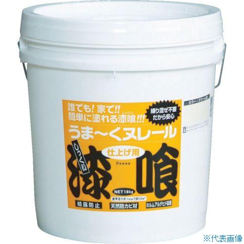 ■日本プラスター うま~くヌレール 18kg 白色〔品番:12UN21〕[TR-3612775]