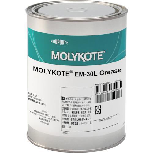 ■モリコート 樹脂・ゴム部品用 EM-30Lグリース 1kg〔品番:EM30L-10〕[TR-3615413]