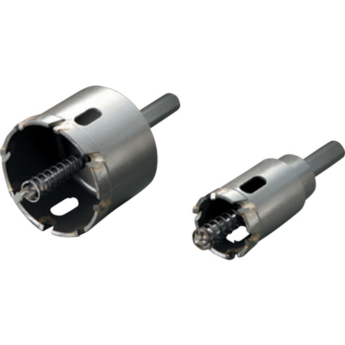 ■ハウスB.M トリプル超硬ロングホールソー 刃径120mm〔品番:SHP-120〕[TR-3618412]