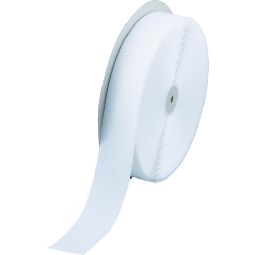 ■TRUSCO マジックテープ 縫製用A側 幅50MMX長さ25M 白  〔品番:TMAH-5025-W〕[TR-3619508]