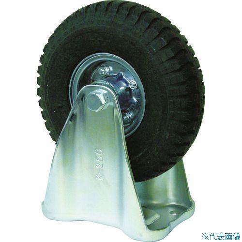 ■ヨドノ 空気入りタイヤ固定車付  〔品番:HC-WK300X4〕[TR-3622142]