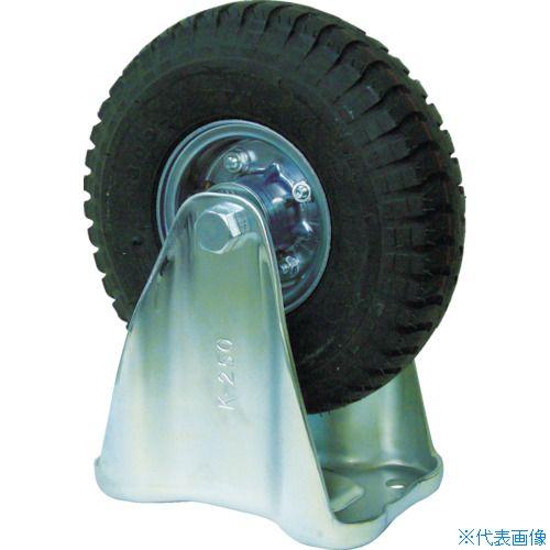 ■ヨドノ 空気入りタイヤ固定車付  〔品番:HC-WK350X5〕[TR-3622151]