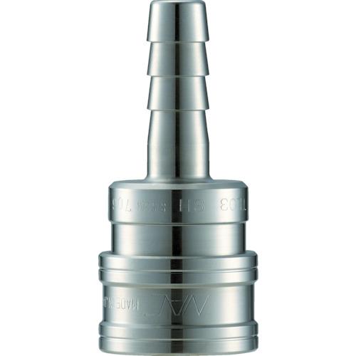 ■ナック クイックカップリング TL型 ステンレス製 ホース取付用〔品番:CTL06SH3〕[TR-3645134]