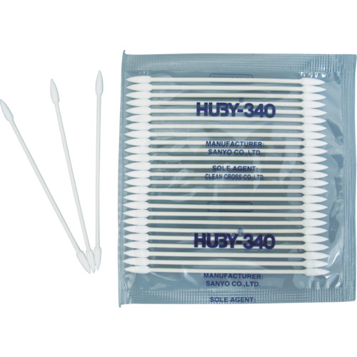 ■HUBY マイクロスワッブ(シャープポイントスリム)  (5000本入)〔品番:BB-003MB〕[TR-3651878]