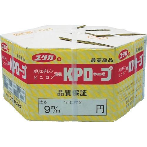 ■ユタカメイク KPメーターパックロープ 9mm×200m〔品番:KMP-9〕[TR-3675785]