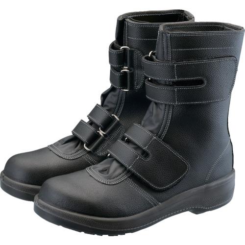 ■シモン 2層ウレタン耐滑軽量安全靴 7538黒 25.0cm〔品番:7538BK-25.0〕[TR-3681041]