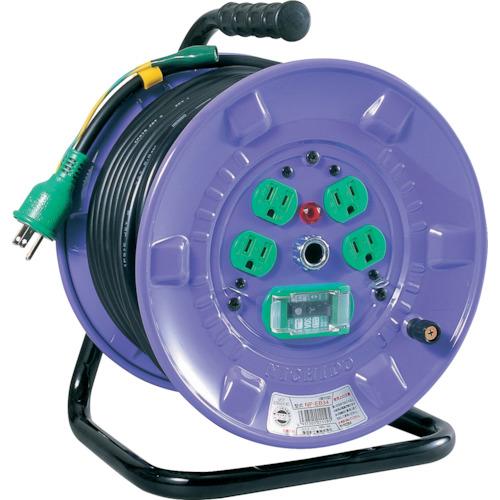 ■日動 100V漏電遮断器付電工ドラム〔品番:NP-EB34〕[TR-3686477]