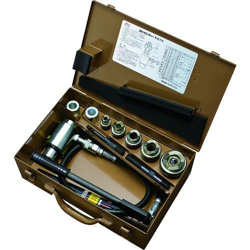■エビ パンチャーセット(薄鋼管用)ポンプ付  〔品番:LP104AP〕[TR-3722961]