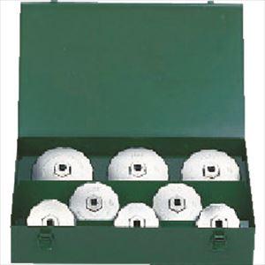 ■KTC カップ型オイルフィルタレンチセット[8コ組]〔品番:AVSA08A〕[TR-3730689]