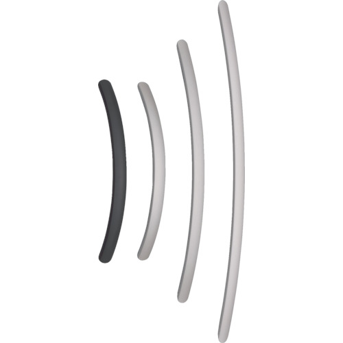 ■スガツネ工業 アルミ製弓形ハンドルSOR型600シルバー(100-010-962〔品番:SOR-600S〕[TR-3770575]