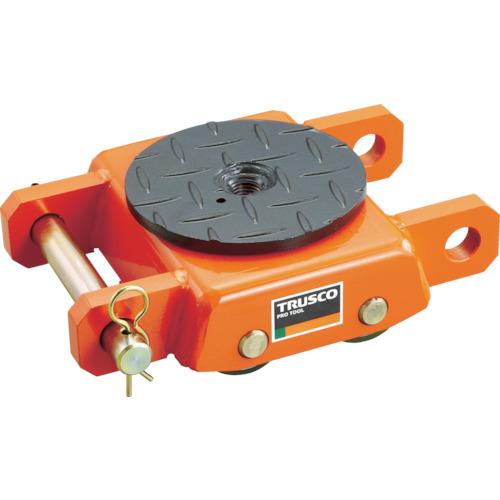 ■TRUSCO オレンジローラー ウレタン車輪付 標準型 3TON[品番:TUW3S][TR-3803350]
