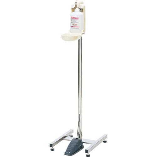■サラヤ 足踏式指消毒器 HC-400〔品番:41807〕[TR-3820882]【大型・重量物・個人宅配送不可】