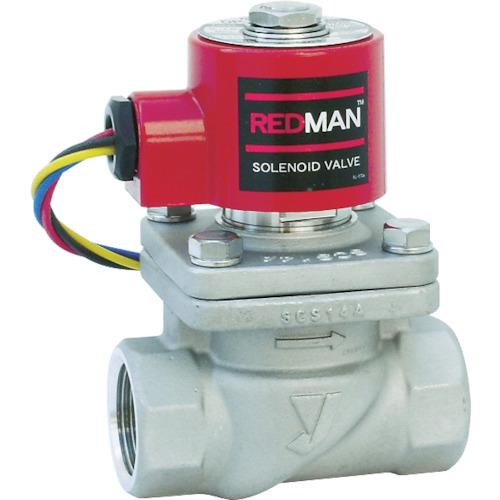 有名ブランド 電磁弁レッドマン 40A〔品番:DP-100-40A〕[TR-3822460]:ファーストFACTORY ?ヨシタケ-DIY・工具