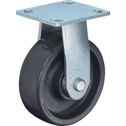 ハンマーキャスター プレート式樹脂車 メーカー直送 ■ハンマー 重荷重用固定式エラストマー車輪 品番:500BPR-HBN150-BAR01 TR-3892956 ラジアルボールベアリング 2020新作 150mm