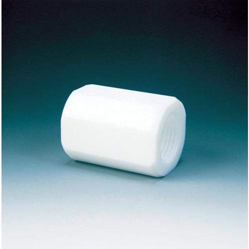■フロンケミカル フッ素樹脂(PTFE) カップリング RC3/4×RC3/4  〔品番:NR0090-004〕[TR-3915786]