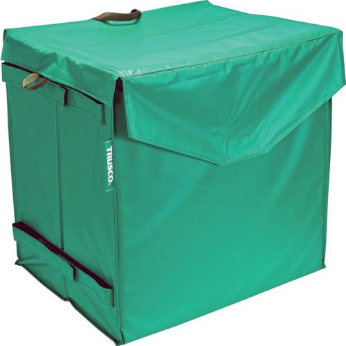 ■TRUSCO ハンドトラックボックス蓋つき650×470  〔品番:THB-100E〕[TR-3934730]