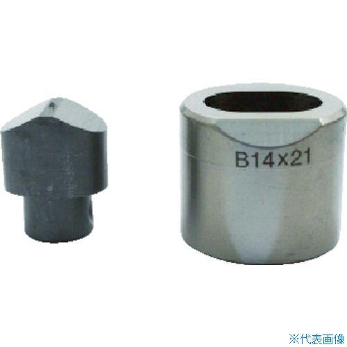 ■育良 フリーパンチャー替刃 IS-BP18S・IS-MP18LE用(51616)  〔品番:11X15B〕[TR-3969410]