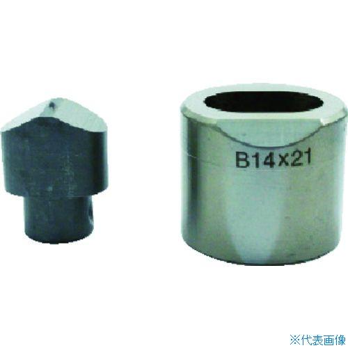 ■育良 フリーパンチャー替刃 IS-BP18S・IS-MP18LE用(51619)〔品番:14X21B〕[TR-3969428]