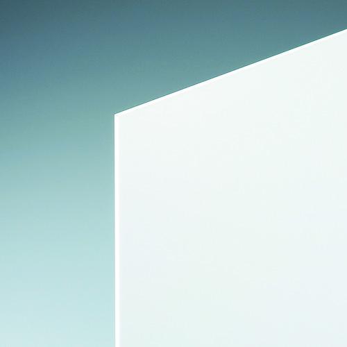 ■光 アクリルキャスト板白約930×1860×3  〔品番:KAC9183-2〕[TR-3976815]【大型・重量物・個人宅配送不可】