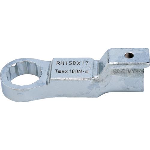 ■トーニチ リングヘッド 許容トルク200.0全長108MM 二面寸法41.0MM  〔品番:RH19DX41〕[TR-4033094]