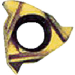 ■NOGA Carmexねじ切り用チップ テーパーねじ用 チップサイズ6×27山×60°《10個入》〔品番:06IR27NPTFBXC〕[TR-4033752×10]