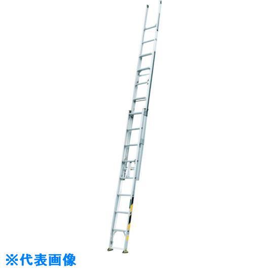 ■ナカオ 3連伸縮梯子「サン3太」  〔品番:ST-8.0〕[TR-4046765]【大型・重量物・個人宅配送不可】