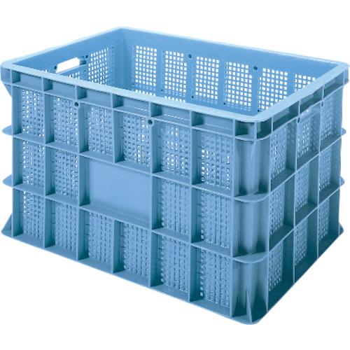 ■積水 BS型メッシュコンテナ BS-200 青〔品番:BS-200〕[TR-4052960]【大型・重量物・個人宅配送不可】