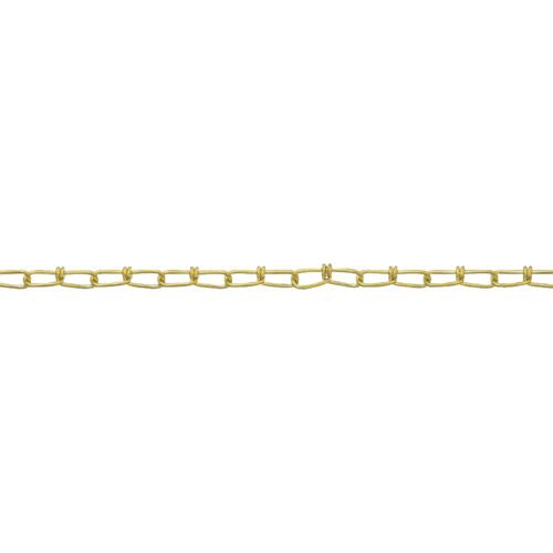 ■ニッサチェイン 真鍮キリンスビクターチェイン 1.6mm×30m〔品番:BV16〕[TR-4056671]