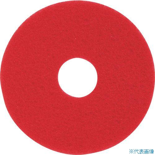 ■3M レッドバッファーパッド 赤 230×82MM  (5枚入)  〔品番:RED〕[TR-4062833]