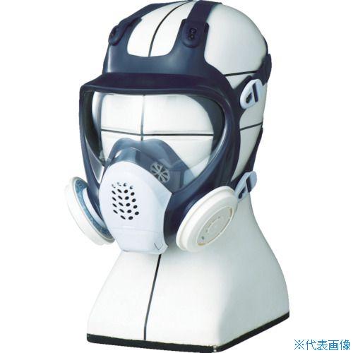 ■シゲマツ TS 取替え式防じんマスク DR185L4N-1〔品番:DR185L4N-1〕[TR-4064445]