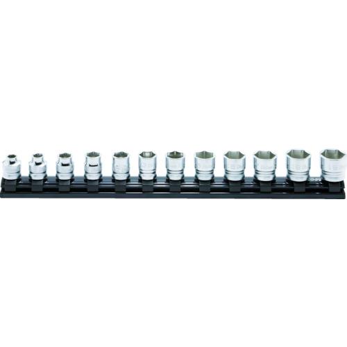 ■コーケン Z-EAL6角スタンダードソケットレールセット 12ヶ組〔品番:RS3400MZ/12〕[TR-4076231]