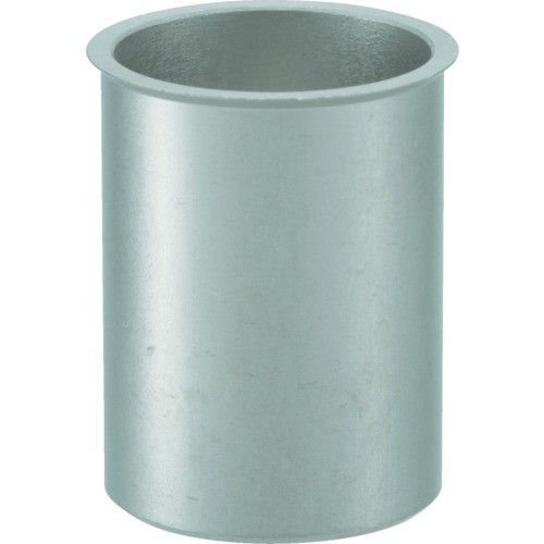 ■TRUSCO クリンプナット薄頭ステンレス 板厚3.5 M4X0.7 100個入  〔品番:TBNF-4M35SS-C〕[TR-4097220]