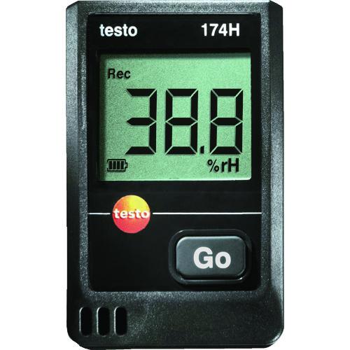 ■テストー ミニ温湿度データロガー(2CH) TESTO 174H  〔品番:TESTO174H〕[TR-4113225]