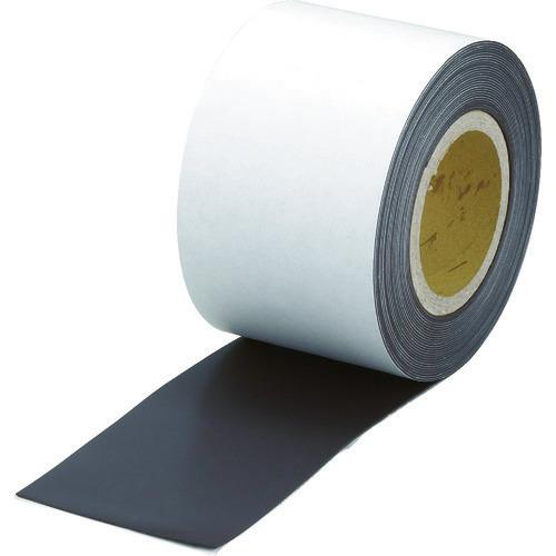 ■TRUSCO マグネットロール 糊付 t1.0mmX巾100mmX10m〔品番:TMGN1-100-10〕[TR-4158415]