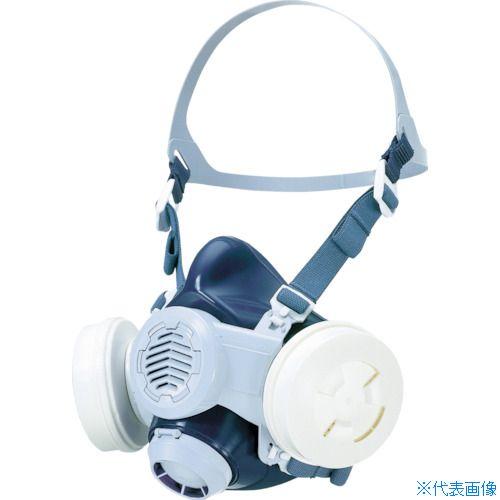 ■シゲマツ 取替え式防じんマスク M〔品番:DR88SFT4(M)〕[TR-4203372]