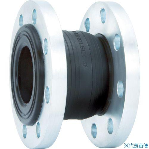 ゼンシン 防振継手 ■ゼンシン ゴム製防振継手 フランジ型 呼び径80A TR-4204247 チープ 3インチ 日本産 品番:ZRJ-B-80