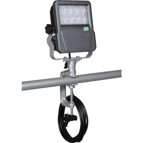 ■ハタヤ LED投光器 60W バイス式 ケーブル5M付  〔品番:LEV-605〕[TR-4238575]