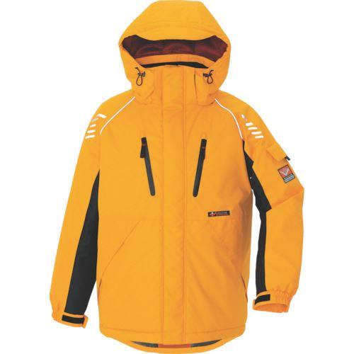 ■アイトス 防寒ジャケット イエロー M〔品番:AZ-6063-019-M〕掲外取寄[TR-4308506]