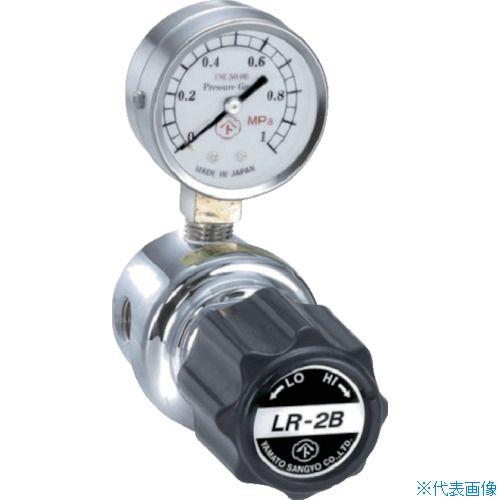 ■ヤマト 分析機用ライン圧力調整器 LR-2B L1タイプ〔品番:LR2BRL1TRC〕[TR-4344634]