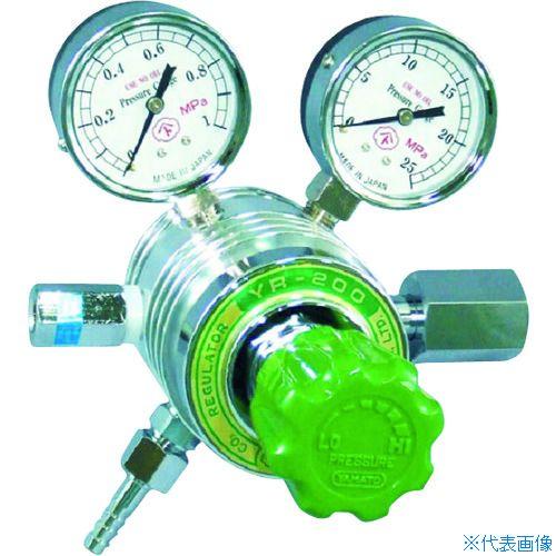 ■ヤマト フィン付圧力調整器 YR-200〔品番:YR-200-R-D-12HG05-CH4〕[TR-4346670]