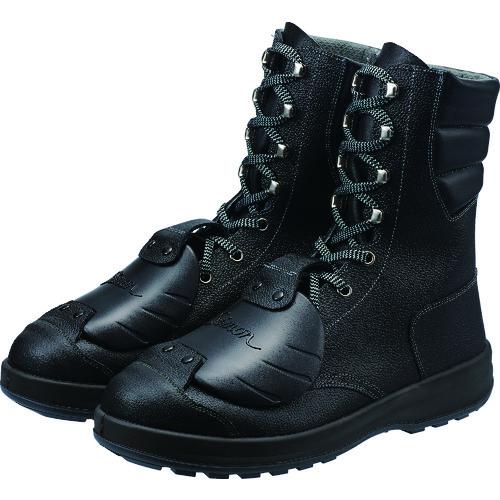 ■シモン 安全靴甲プロ付 長編上靴 SS33D-6 25.0CM〔品番:SS33D-6-25.0〕[TR-4351533]